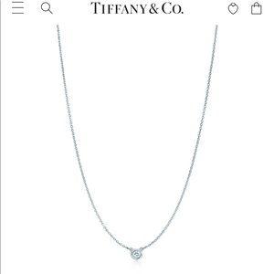 Tiffany&Co Elsa Peretti Diamond Pendant